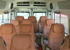 12 seater tempo traveller rental delhi