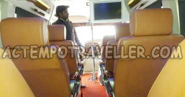 deluxe 1x1 tempo traveller rates in delhi