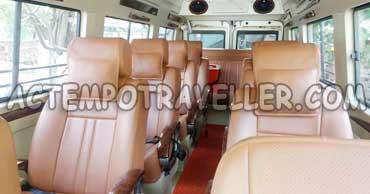 11+1 seater 1x1 deluxe tempo traveller with sofa