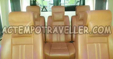 9+1 Luxury 1x1 tempo traveller in delhi