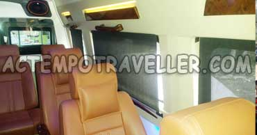 deluxe 1x1 pkn tempo traveller booking in delhi