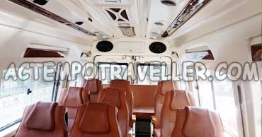16 seater tempo traveller hire india