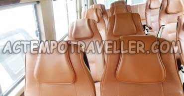17+1 seater 2x1 tempo traveller