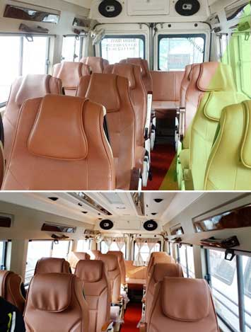 tempo traveller hire in delhi india